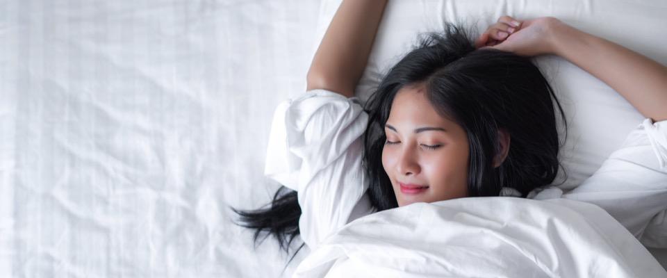 Dormire bene dipende spesso dalle abitudini personali